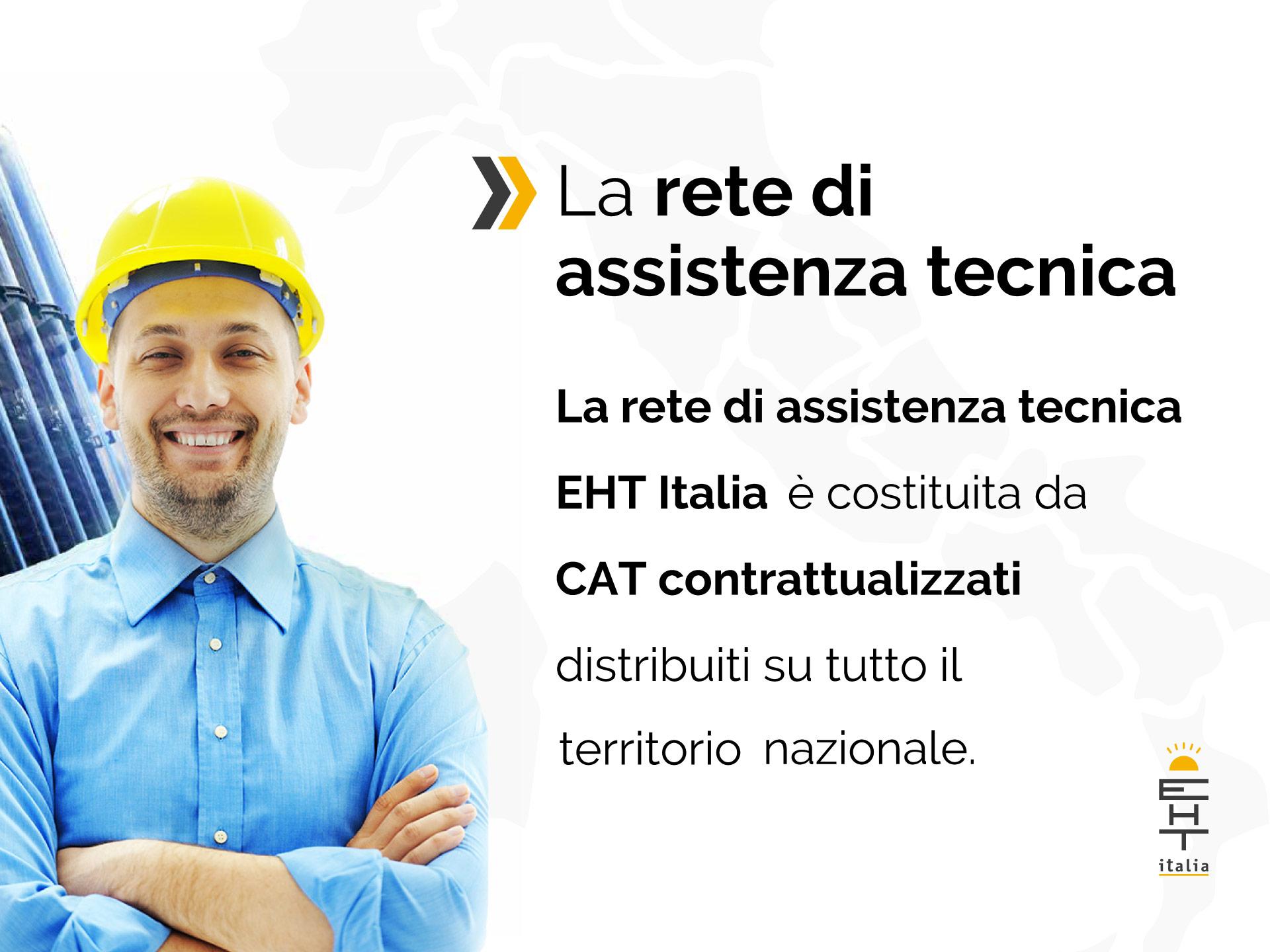 CAT assistenza e supporto tecnico nazionale