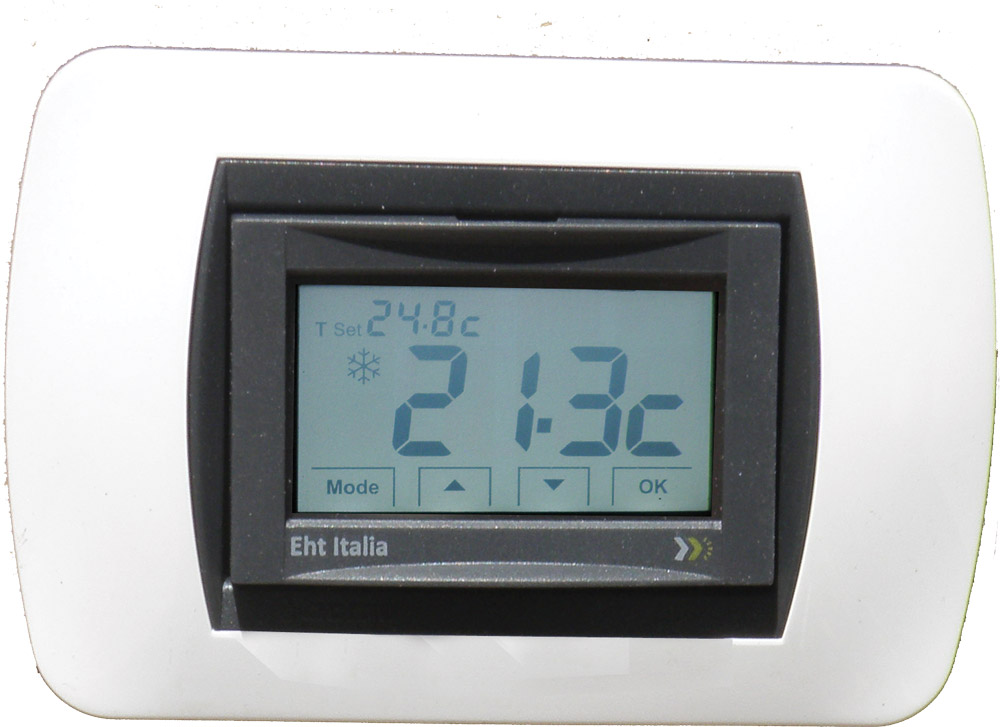 TERMOSTATO AMBIENTE TOUCH SCREEN E/I